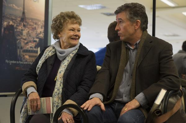 Judi Dench and Steve Coogan in the film <em>Philomena.</em>