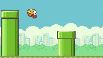 Flappy Bird is a simple mobile game that has been downloaded more than 50 million times.