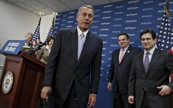 House Speaker John Boehner and his fellow Republicans could give President Obama the clean debt ceiling increase he wants but not for the reasons the president wants it.