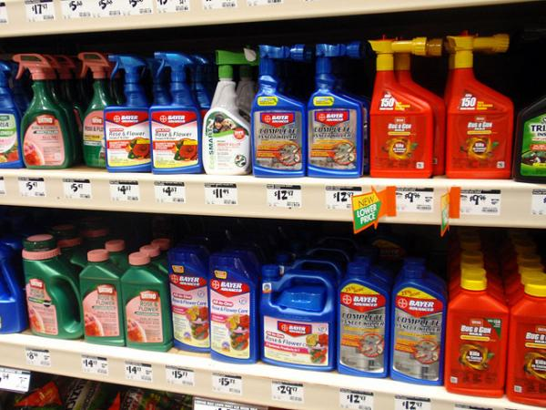 FIle photo.  A measure in Oregon would have banned the use of four types of pesticides.