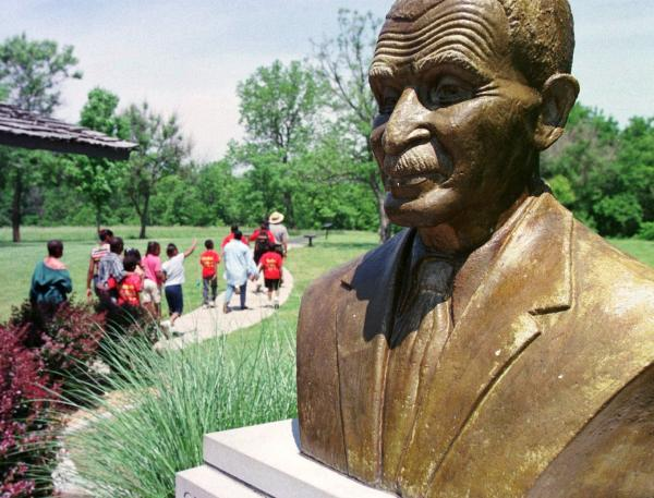 The George Washington Carver National Monument in Diamond, Mo., was the first dedicated to a nonpresident.