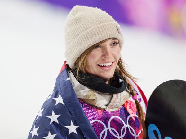 Olympic gold medalist Kaitlyn Farrington