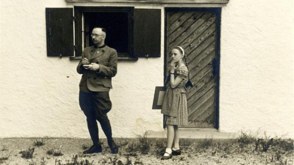 Nazi leader Heinrich Himmler and his daughter Gudrun. Vanessa Lapa, the granddaughter of Holocaust survivors, has made a documentary called <em>The Decent One</em>, based on Himmler's letters to his wife and other personal documents.