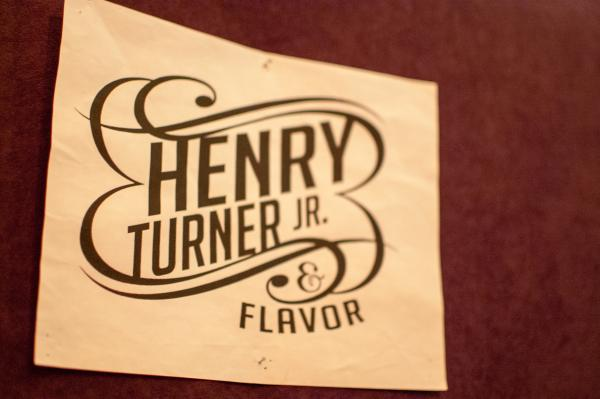"Turner has fronted ""Henry Turner Jr."