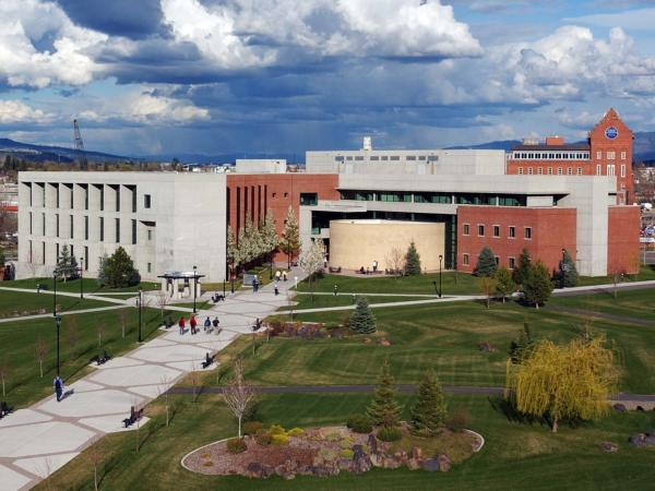 "The campus of Washington State University, Spokane. WSU, which has its main campus in Pullman, Wash., is one of 800 colleges and universities that have ""test-optional"" admissions policies."