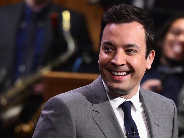 "Jimmy Fallon took over as host of <em>The Tonight Show</em> on Monday. ""I hope I do well,"" he told the audience. ""I hope that you enjoy this."""