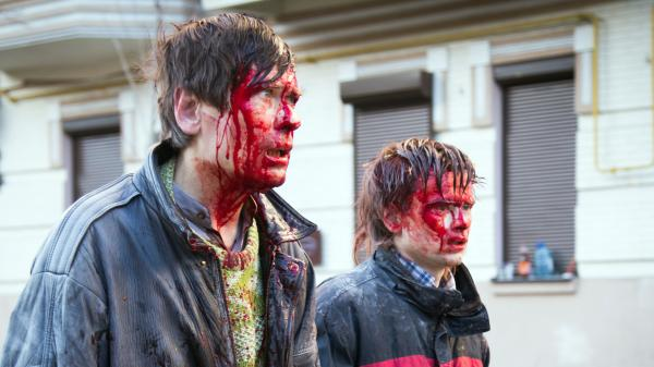Anti-government protesters were wounded in clashes with the police Tuesday in Kiev. Ukraine is one of the many former Soviet republics still struggling to build a stable democratic system.