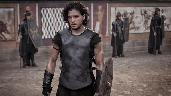 <em>Game of Thrones</em>' Kit Harington plays a gladiator who finds love, friendship and vengeance — all in one fateful weekend — in the shadow of Mount Vesuvius.