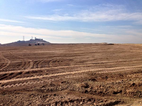 Much of the Puente Hills Landfill is closed and now covered with top soil to seal in the trash.