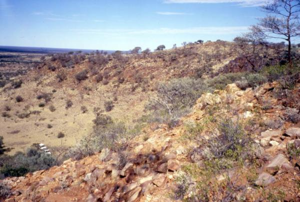 "The Hadean zircons --€ the"" oldest bits of Earth yet found --€"" were discovered near here, on a sheep ranch in Jack Hills, Western Australia."