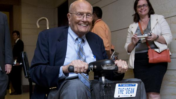 Rep. John Dingell, D-Mich., whose House career stretches nearly 60 years, will retire at the end of his term as the longest-serving member of Congress in history.