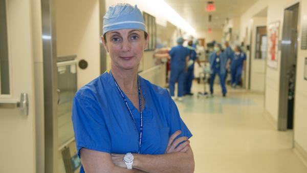 Now Dr. Majilla Doyle's organ donors come to her.