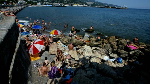 Crimea. It's no longer a day at the beach.