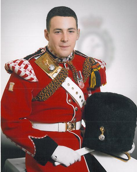 The victim: Fusilier Lee Rigby.
