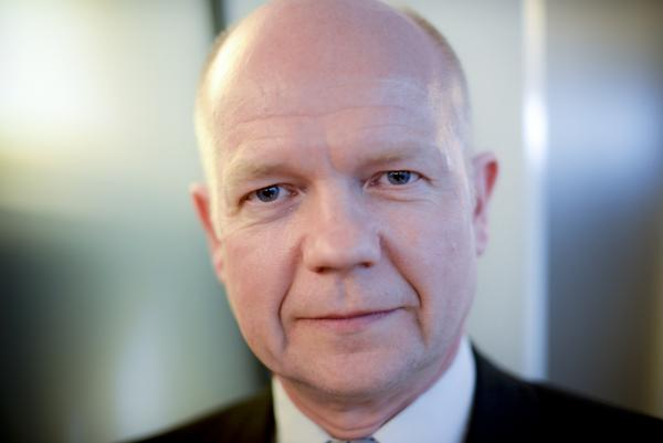The U.K. supports stability and democracy in Ukraine, says British Foreign Secretary William Hague, who visited NPR headquarters in Washington, D.C., Wednesday.