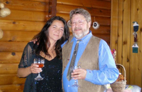 Detricia Hahn and Dave Anderson have been happily married for five years.