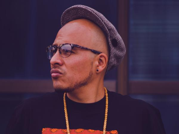 Rapper Bocafloja is a pioneer of Mexican hip-hop.
