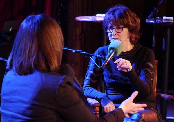 Very Important Puzzler Delia Ephron talks with <em>Ask Me Another </em>host Ophira Eisenberg about growing up in a family full of writers.
