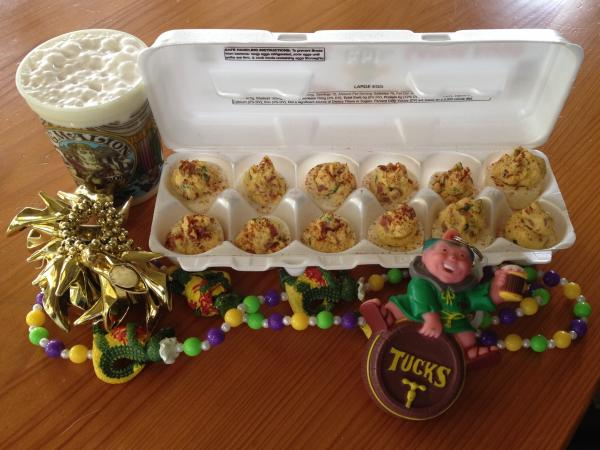 "Poppy Tooker's ""breakfast of champions"" might not be the way you typically start your day. Then again, there's not much that's typical about Mardi Gras."