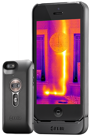 FLIR Systems has introduced the first thermal imager designed for smartphones.