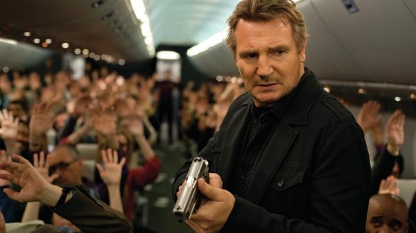 Liam Neeson is a federal air marshal on an imperiled flight in <em>Non-Stop, </em>the latest film to feature the actor as a troubled action hero.