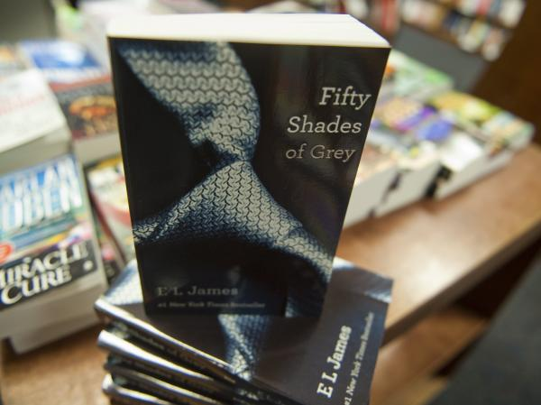 Copies of <em>Fifty Shades of Grey</em> by E. L. James at the Politics and Prose Bookstore in Washington, D.C.