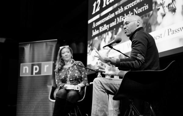 <em>12 Years A Slave </em>writer and producer John Ridley joined Michele Norris in NPR's Studio 1 for a wide-ranging conversation.