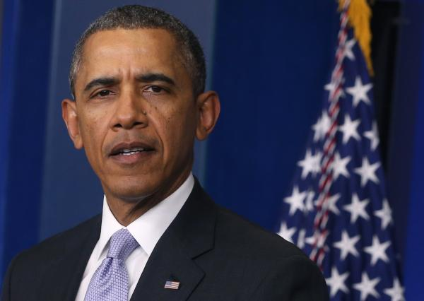 "President Obama spoke about the Ukraine crisis Friday afternoon, saying, ""The United States will stand with the international community in affirming that there will be costs for any military intervention in Ukraine."""
