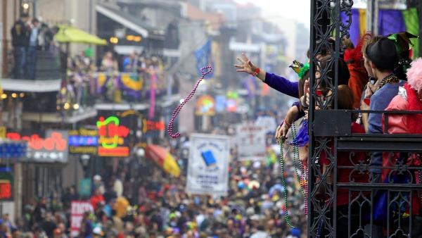 Beads are essential to celebrating Mardi Gras season in New Orleans, but what happens to the tokens when the revelry ends?