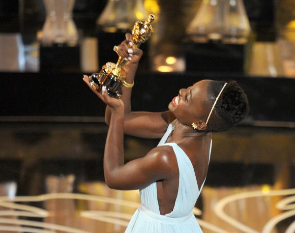At Sunday's Oscar ceremony, the feel-good win of the night came when <em>12 Years a Slave </em>star Lupita Nyong'o took home the supporting-actress trophy.