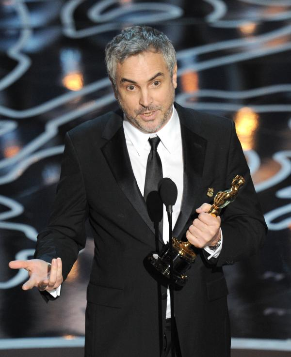 ... which went to Alfonso Cuaron for Gravity. Cuaron is the first Latino to take home the directing statue.