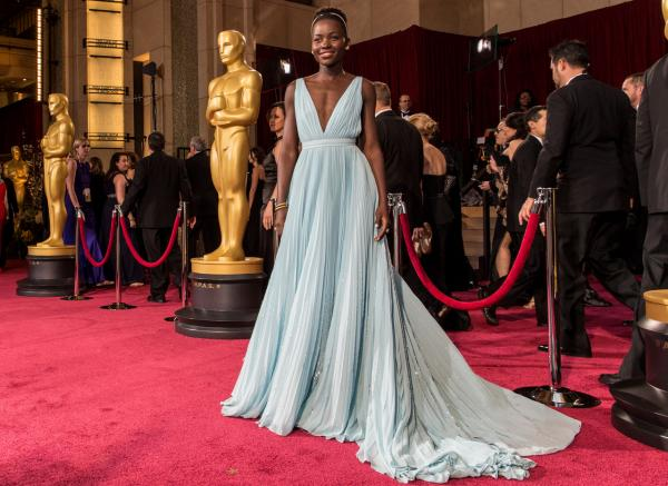 Lupita Nyong'o attends the Oscars at Hollywood & Highland Center on March 2, 2014 in Hollywood, California.  (Christopher Polk/Getty Images)