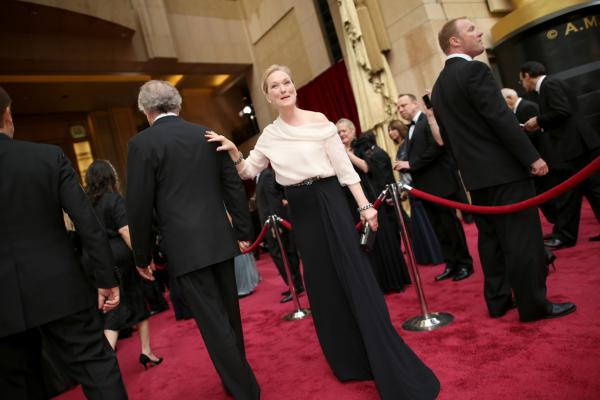 Actress Meryl Streep attends the Oscars at Hollywood & Highland Center on March 2, 2014 in Hollywood, California. (Christopher Polk/Getty Images)