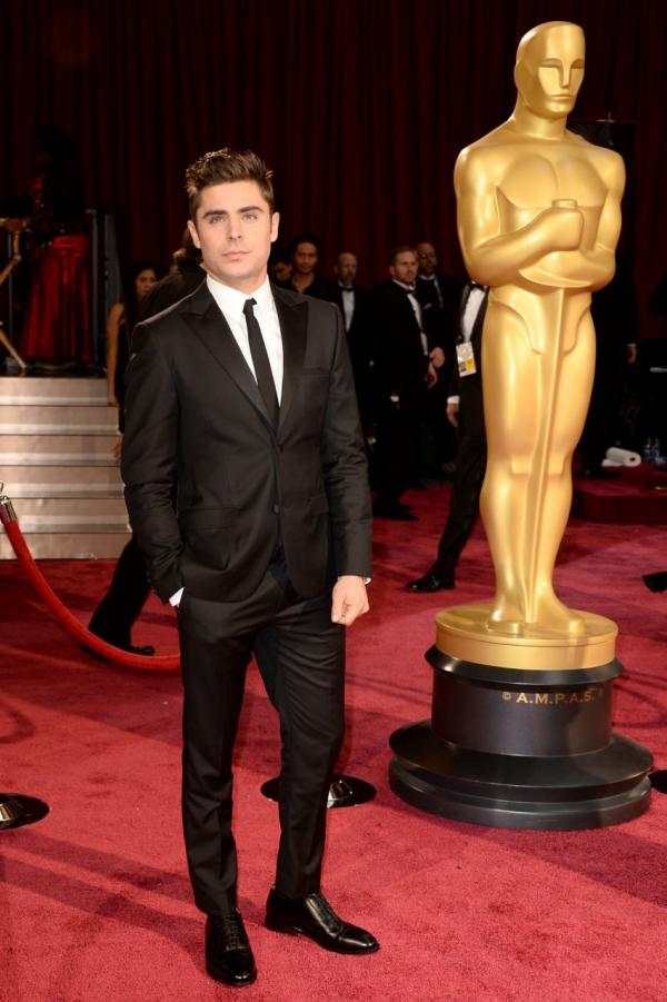 Actor Zac Efron attends the Oscars held at Hollywood & Highland Center on March 2, 2014 in Hollywood, California. (Frazer Harrison/Getty Images)