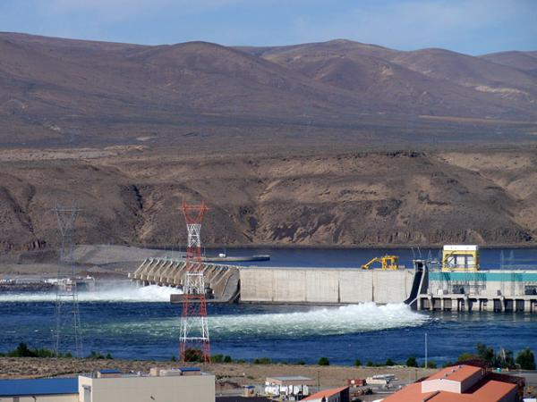 File photo of Wanapum Dam