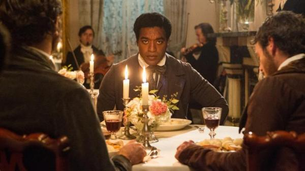In <em>Twelve Years A Slave</em>, Chiwetel Ejiofor plays Solomon Northup, who was kidnapped and sold into slavery.