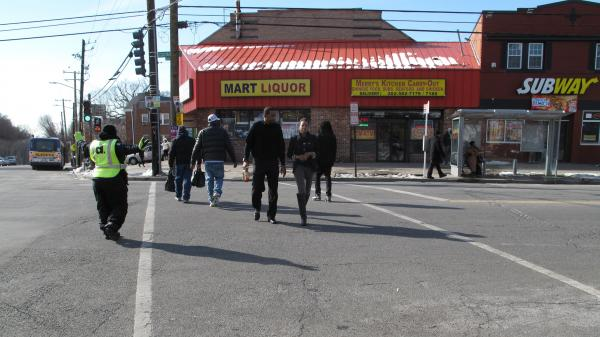 Martin Luther King Jr. Avenue is short on restaurant and retail options.