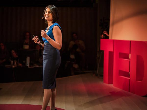Rupal Patel speaking at TED Women.