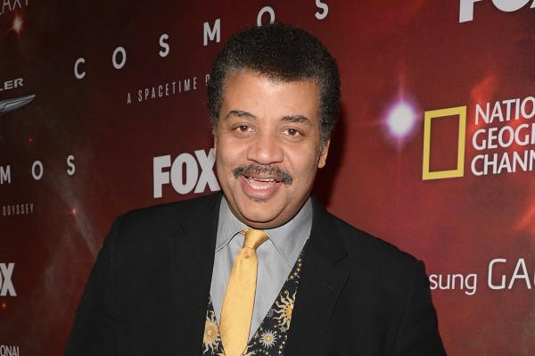 Neil deGrasse Tyson attends the premiere of Fox's 'Cosmos: A SpaceTime Odyssey' on March 4, 2014 in Los Angeles, California. (Jason Kempin/Getty Images)