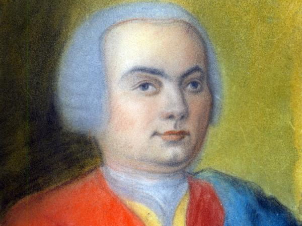 Carl Philipp Emanuel Bach, captured around 1733, in a portrait by one of his relatives, Gottlieb Friedrich Bach.