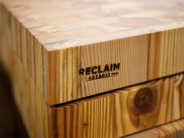 Reclaim Detroit says that when it takes apart vacant buildings, it can recycle 15 percent and reuse 70 percent of the materials.