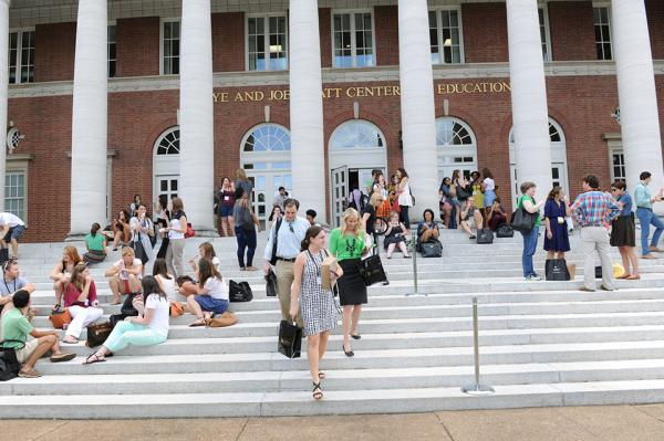 Vanderbilt's Peabody College has been ranked as the top education school in the country by U.S. News and World report for the last five years. (Reed Brown/Vanderbilt Peabody College)