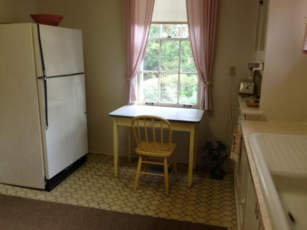 Eudora Welty's kitchen. (Robin Young/Here & Now)