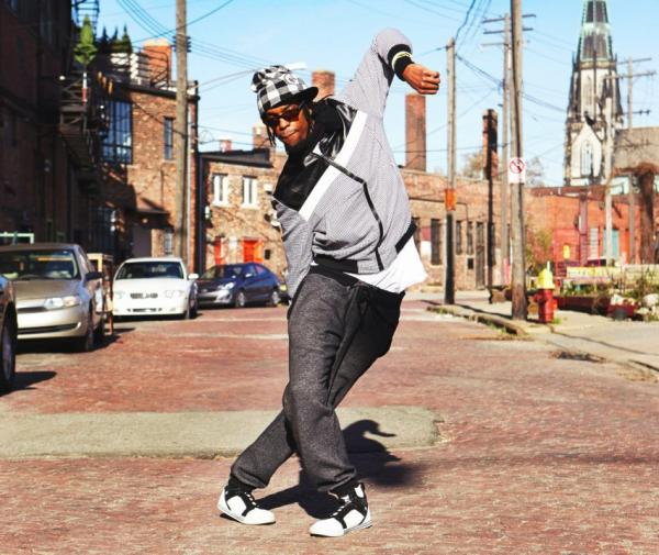 The Jit is a street dance that was developed in Detroit during the 1970s. Haleem Rasul is the founder of HardCore Detroit, a dance troupe, and is keeping the dance's legacy alive in a new documentary. (Courtesy Haleem Rasul)