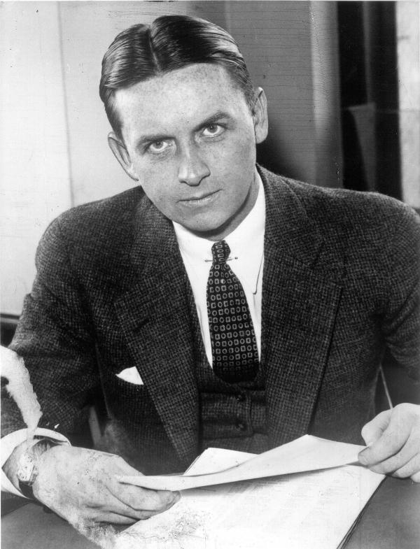 Eliot Ness is credited with assembling a team of federal agents who took down Al Capone in Chicago in the 1930s.