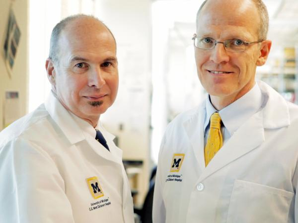 Scott Hollister, a biomedical engineer at the University of Michigan, and Dr. Glenn Green, a specialist in pediatric otolaryngology, teamed up on  Garrett's case.
