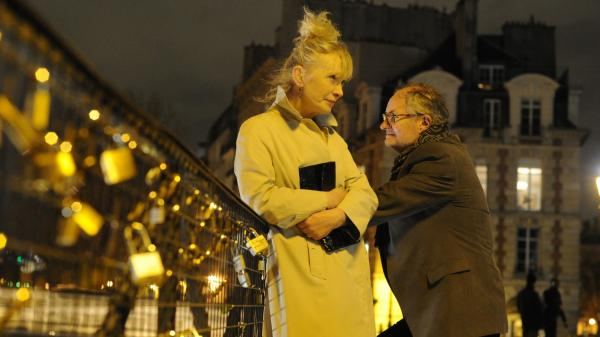 A middle-aged British couple (Lindsay Duncan and Jim Broadbent) attempts to re-create the sizzle of their Paris honeymoon in <em>Le Week-End</em>, from director Roger Michell.