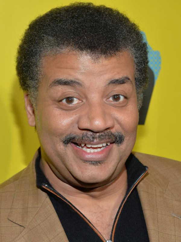 "Neil deGrasse Tyson arrives at the screening of ""Cosmos: A Space Time Odyssey"" during SXSW 2014."