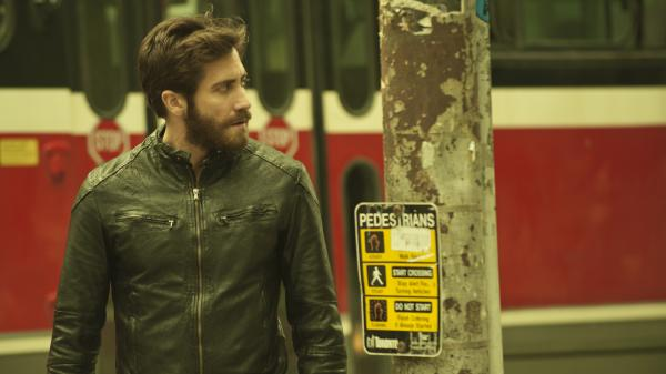 Jake Gyllenhaal acts with stunning control and specificity in his double role as two lookalikes.