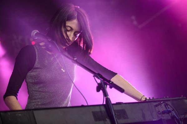 <p>Hundred Waters kept the vibe ghostly and beautiful at Empire Garage.</p><p></p>